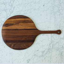 Round Peel Board - Walnut
