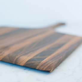 Square Peel Board - Walnut