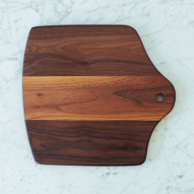 Square Hearth Board - Walnut
