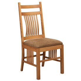 Amana Slat Back Mission Chair