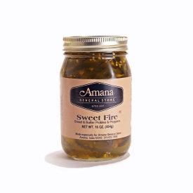 Sweet Fire Bread & Butter Pickles