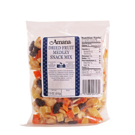Amana Dried Fruit Medley Snack Mix