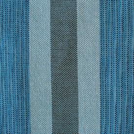 Blue Space Dye Fringe Throw