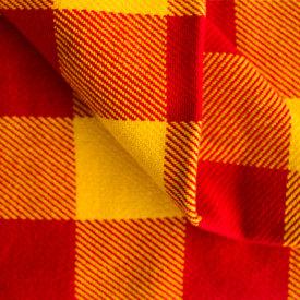 Red/Gold Cotton Stadium Blanket