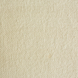 Solid Cream Chevron Bed Blanket