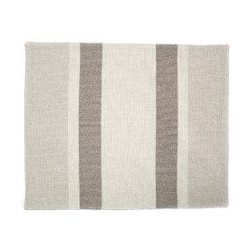 Eco2 Placemat South Stripe Dark Linen