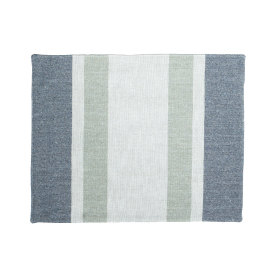 Eco2 Placemat South Stripe Navy Marl