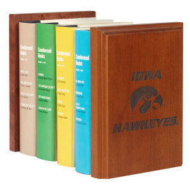 Amana Hawkeye Bookends