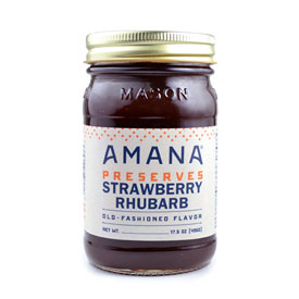 Amana Strawberry-Rhubarb Preserves
