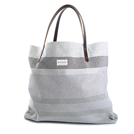 Eco2 Tote South Stripe - Dark Linen
