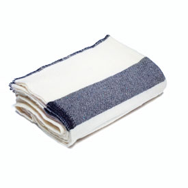 Non-Issued White/Navy Civil War Blanket
