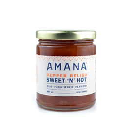 Amana Sweet 'N Hot Pepper Relish