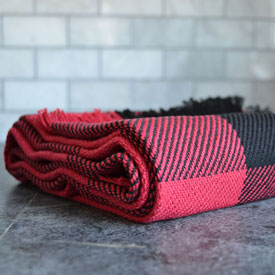 Red/Black Buffalo Check 16